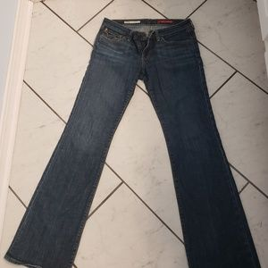 Sam and billy riley low boot cut jeans. Size 28